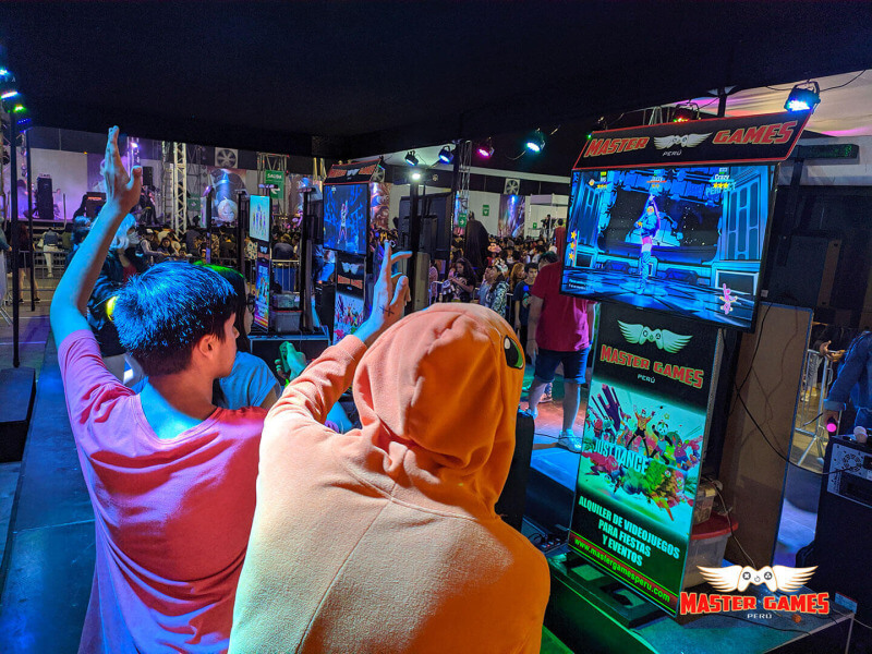 Just Dance en Envento Master Games Perú - Zeo Commerce